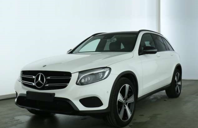 Left hand drive MERCEDES GLC  250 4M Exclusive AMG
