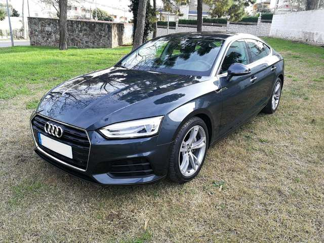 Left hand drive AUDI A5 Sportback 2.0TDI Advanced S tronic Spanish reg