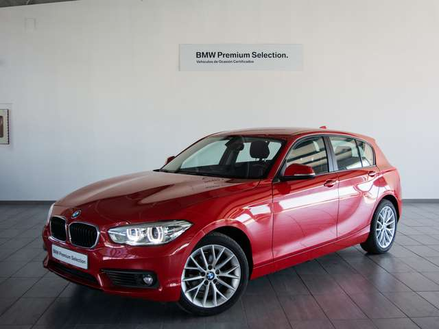 Left hand drive BMW 1 SERIES 118D ADVANTAGE SPANISH REG