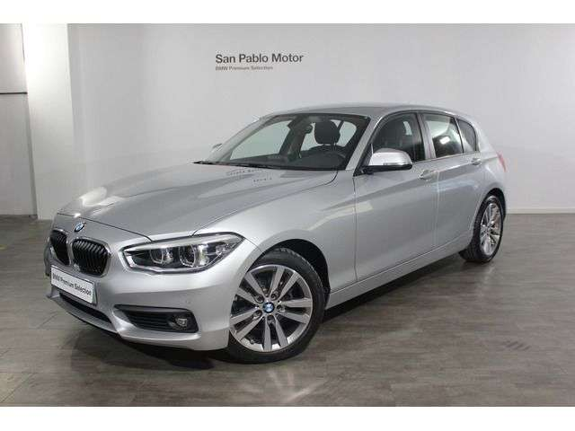 Left hand drive BMW 1 SERIES 118i Advantage Spansih reg