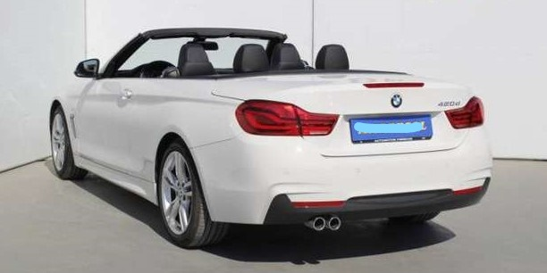 Left hand drive BMW 4 SERIES 420 dA Cabrio  SPANISH REG