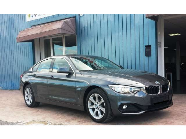 Left hand drive BMW 4 SERIES 420D AWD GRAND COUPE