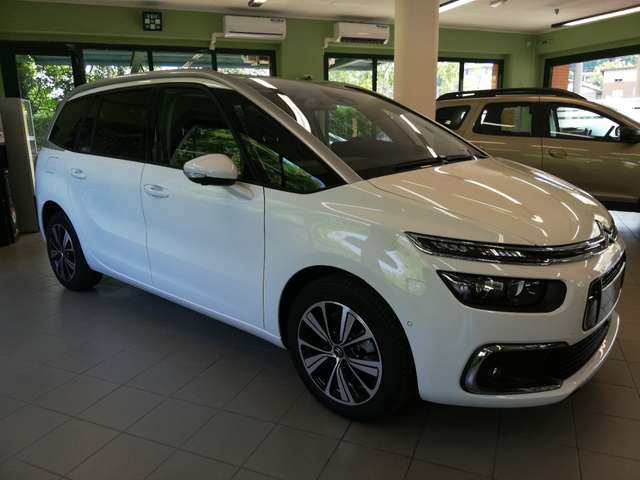 Left hand drive CITROEN C4 GRAND SPACETOURER - SHINE