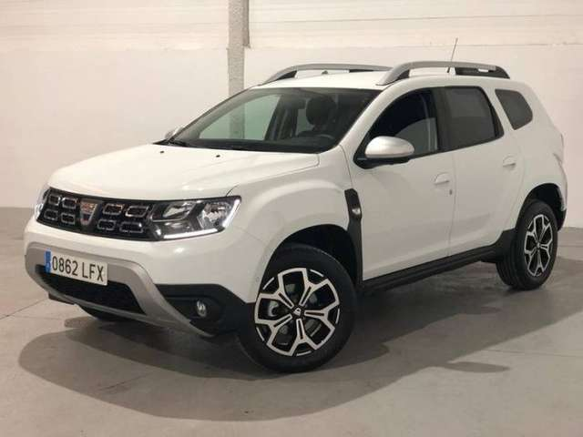 lhd DACIA DUSTER (01/2020) - WHITE
