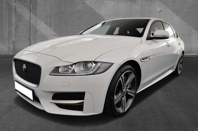 lhd JAGUAR XF (03/2019) - WHITE