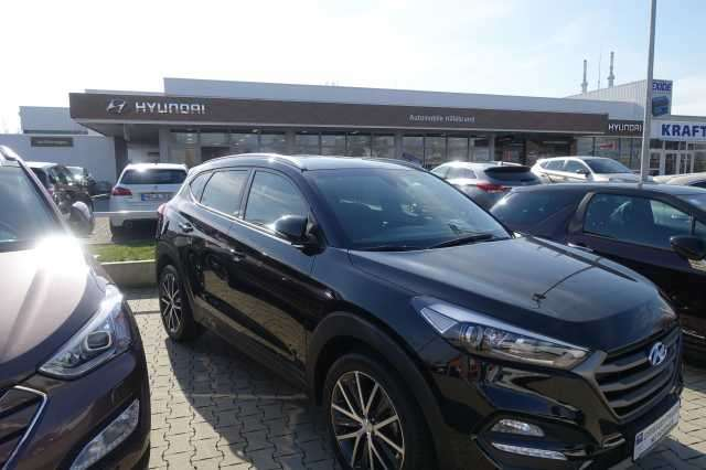 Left hand drive HYUNDAI TUCSON 1.6 Turbo 2WD DCT Passion