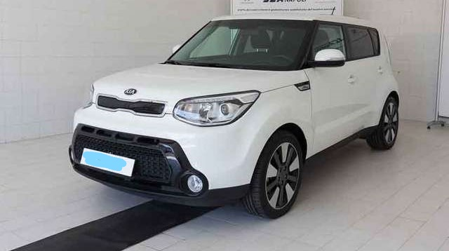 Left hand drive KIA SOUL 1.6 CRDi You Soul
