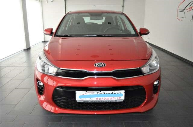 left hand drive KIA RIO (12/2019) - BROWN