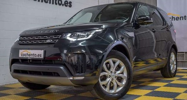 Left hand drive LANDROVER DISCOVERY 3.0TD6 SE Aut.SPANISH REG