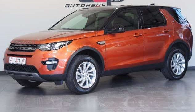 Left hand drive LANDROVER DISCOVERY SPORT 2.0 SE Si4