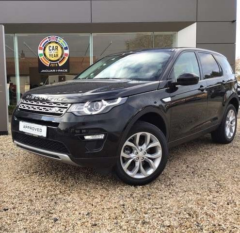 Left hand drive LANDROVER DISCOVERY SPORT  2.0 TD HSE 4x4