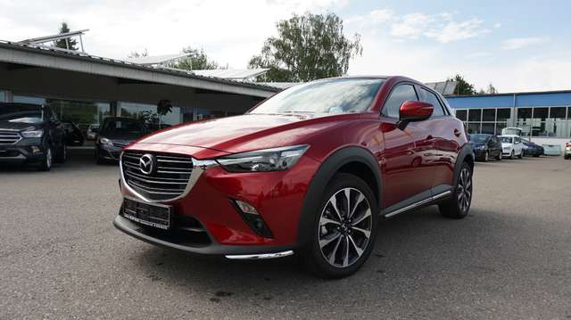 Left hand drive MAZDA CX-3  SKYACTIV-D 115 FWD Sports-Line