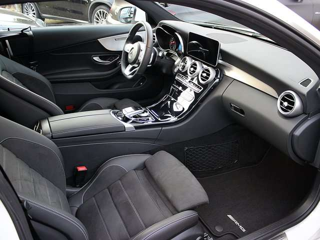 Left hand drive MERCEDES C CLASS 180 Coupe AMG Distronic