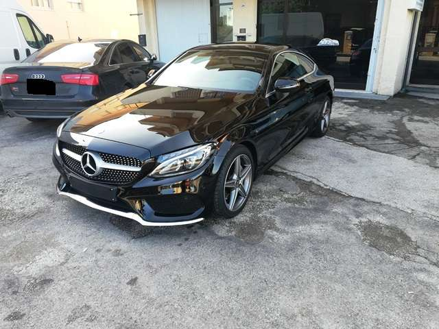 Left hand drive MERCEDES C CLASS 220 d Coupe AMG