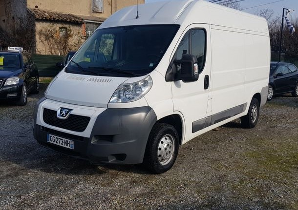 Left hand drive PEUGEOT BOXER  2.2 hdi LWB  l2h2 FRENCH REG