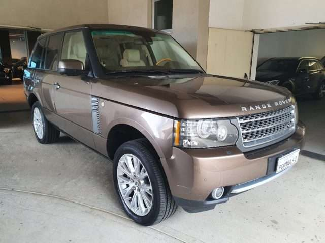 Left hand drive LANDROVER RANGE ROVER 4.4 TDV8 Autobiography