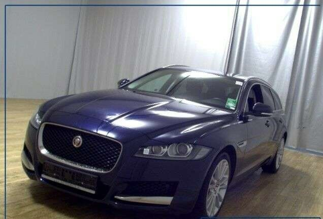 lhd JAGUAR XF (10/2018) - BLUE