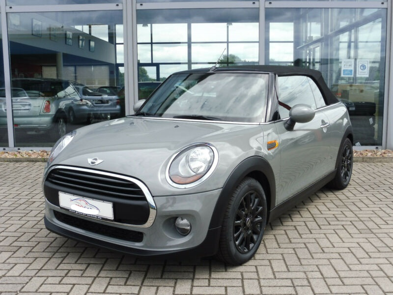 lhd MINI CABRIO (04/2017) - GREY - lieu: