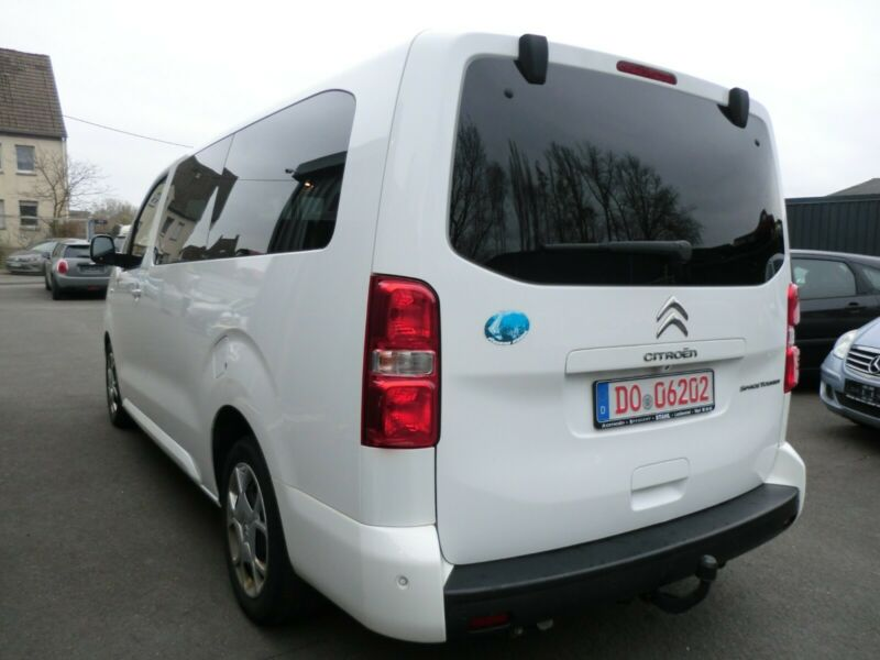 lhd car CITROEN JUMPY (04/2017) - WHITE