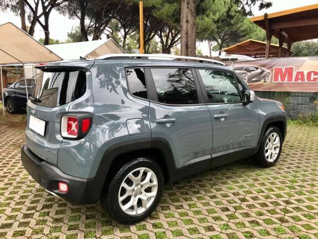 Left hand drive JEEP RENEGADE .6 Mjt 120 CV Limited FULL NAVI