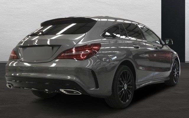 Left hand drive MERCEDES CLA CLASS Shooting Brake 7G DCT