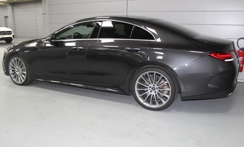 Left hand drive MERCEDES CLS CLASS 450 367ch EQ Boost AMG Line