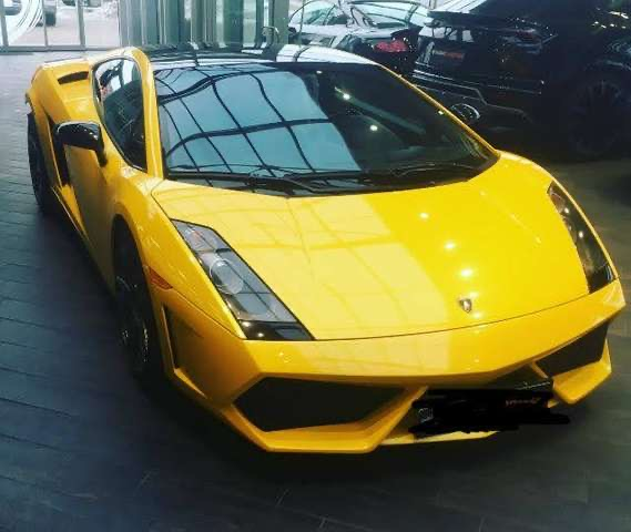 lhd LAMBORGHINI GALLARDO (04/2006) - YELLOW