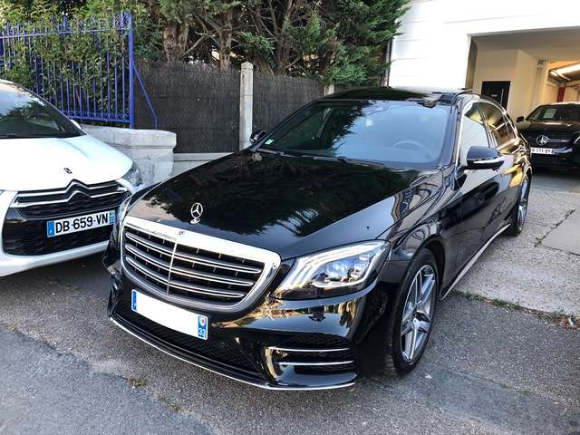Left hand drive MERCEDES S CLASS 350 Classe d 9G Tronic Executive