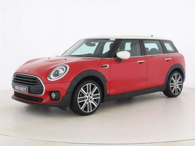 Left hand drive MINI CLUBMAN Aut. Chili+Navi+LED