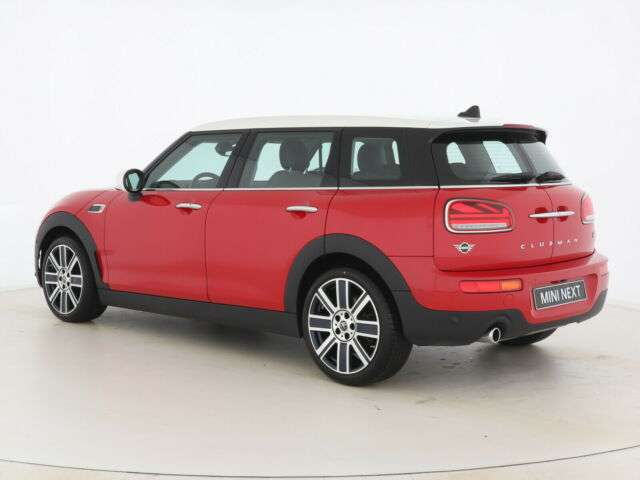 Left hand drive car MINI CLUBMAN (12/2019) - RED