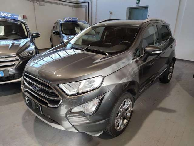Left hand drive FORD ECOSPORT 1.0 ECOBOOST 125CV AUTO