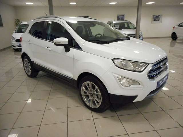 lhd FORD ECOSPORT (10/2018) - WHITE