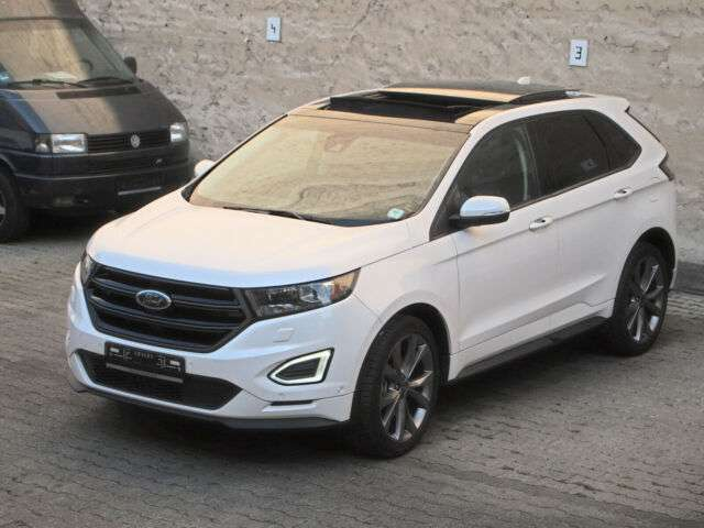 lhd FORD EDGE (07/2018) - WHITE