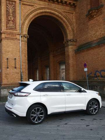 FORD EDGE (07/2018) - WHITE
