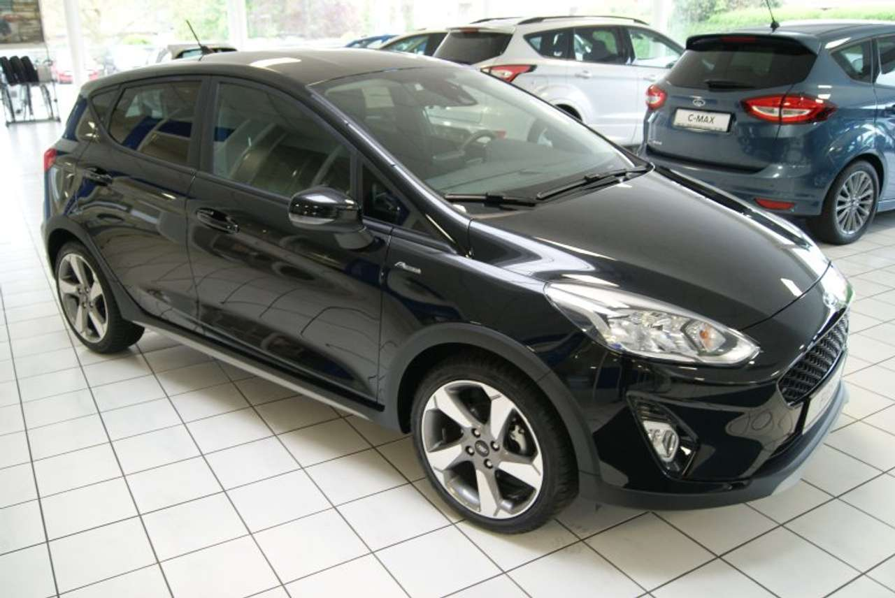 FORD FIESTA (07/2019) - BLACK