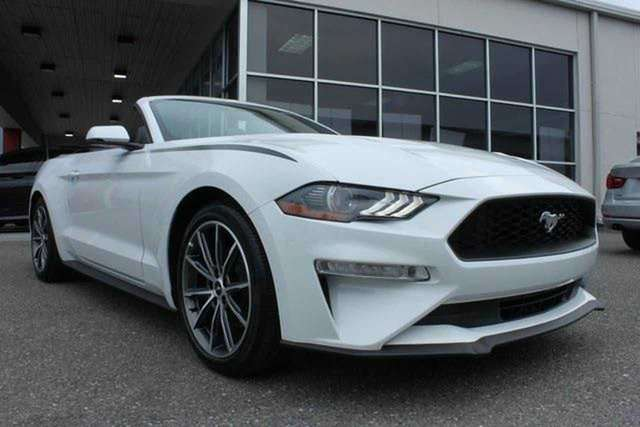 Left hand drive FORD MUSTANG Cabrio EcoBoost Premium Spanish reg