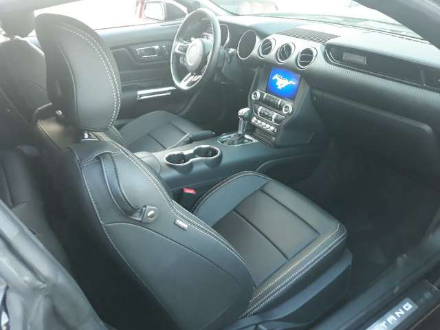 left hand drive FORD MUSTANG (04/2018) - BLACK