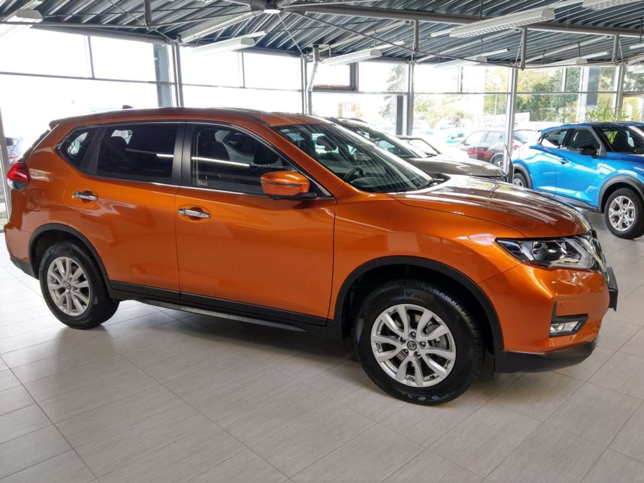 Left hand drive NISSAN X TRAIL 1.3 DIG-T Acenta