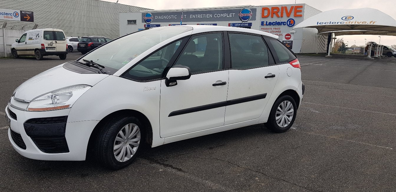 Left hand drive CITROEN C4 PICASSO 1.6 PICASSO FRENCH REG
