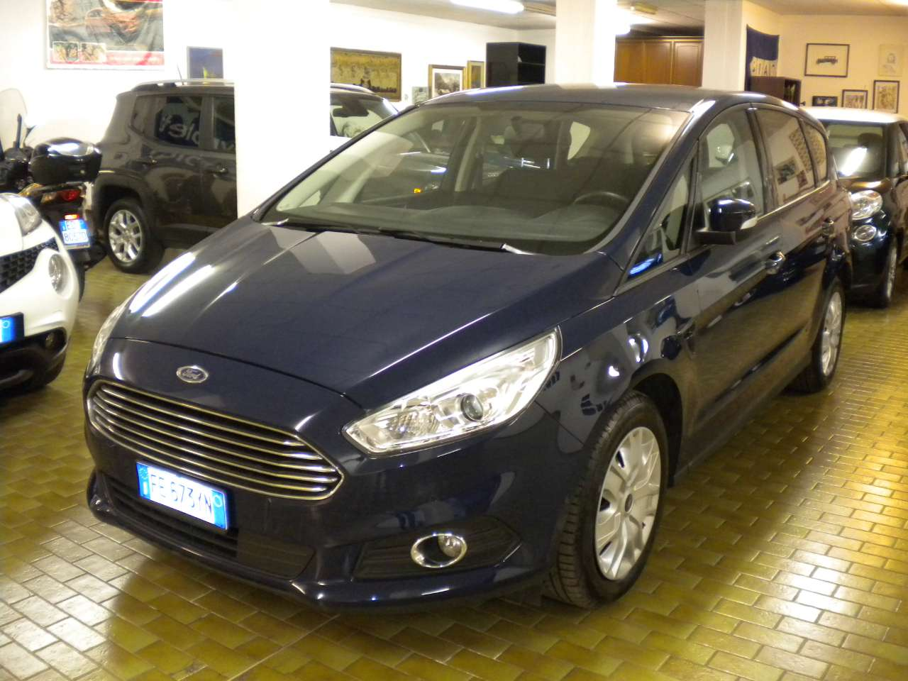 FORD S MAX (07/2016) - BLUE - lieu: