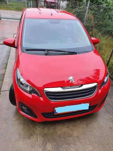 PEUGEOT 108 (06/2019) - RED