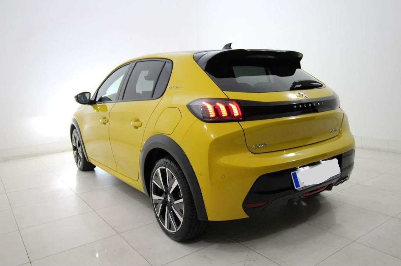Lhd PEUGEOT 208 (01/2020) - YELLOW