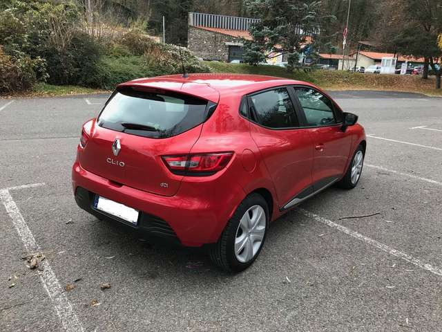 Left hand drive RENAULT CLIO iv dci 90 business