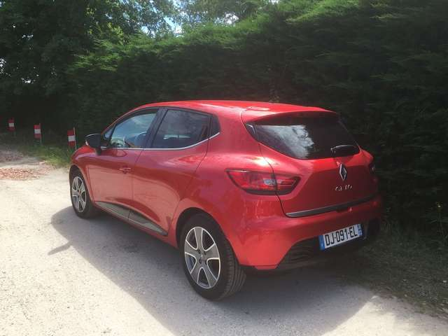 Left hand drive RENAULT CLIO iv tce 90 energy eco2 limited
