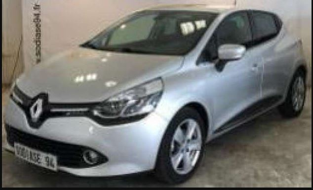 Left hand drive RENAULT CLIO BUSINESS TCE 90