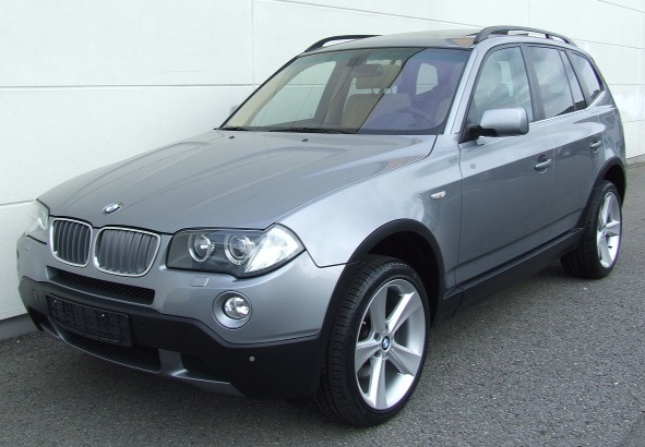 Lhd BMW X3 (10/2007) - Metallic Silver Grey Lieu: