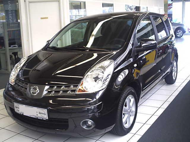 lhd nissan note 01 12 2008 metallic black lieu. Black Bedroom Furniture Sets. Home Design Ideas
