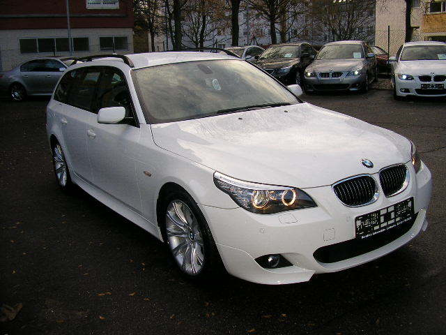 BMW 5 SERIES (05/2008) - Alpine White - lieu: