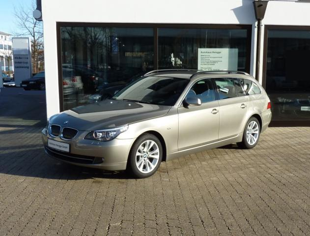 lhd BMW 5 SERIES (06/2008) - Metallic Platin Bronze - lieu: