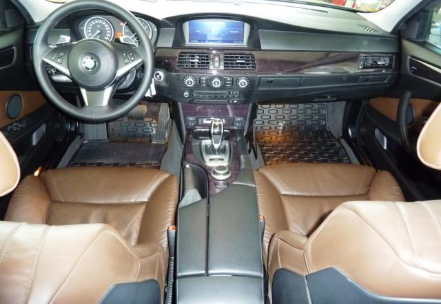 BMW 5 SERIES (06/2008) - Metallic Platin Bronze - lieu: